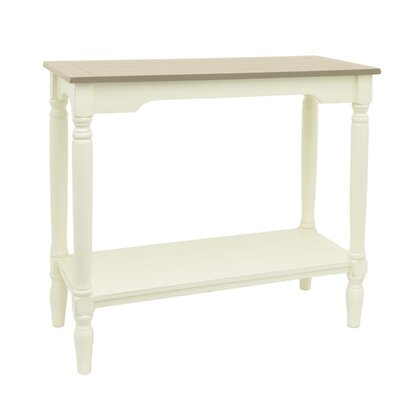 Console Table Finish: Beige