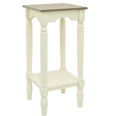 End Table Finish: Beige/White