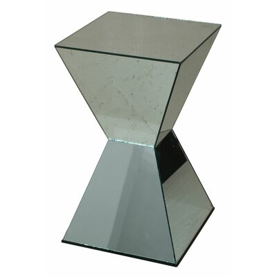 End Table Finish: Chrome Silver