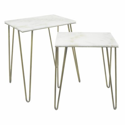Parris Metal End Table Set