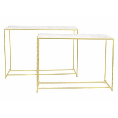 Kristian Metal End Table
