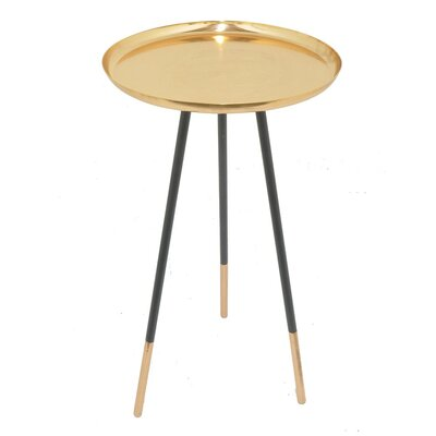 Partee Metal Tray Table with Tripod Stand