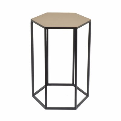 Deutsch Hexagonal Metal End Table