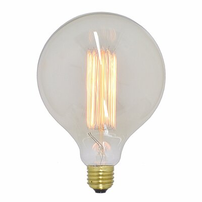 Tungsten Filament Light Bulb