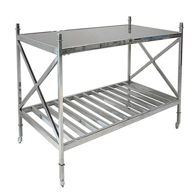 Dewees Metal Tray Table