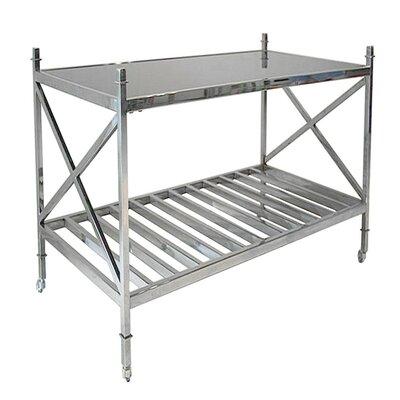 Dewees Metal End Table
