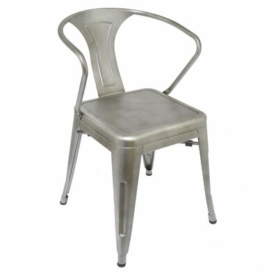 Liah Metal Industrial Armchair