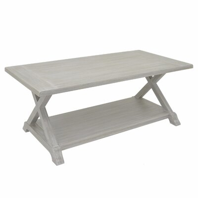 Padmasini Wood Coffee Table Color: Gray