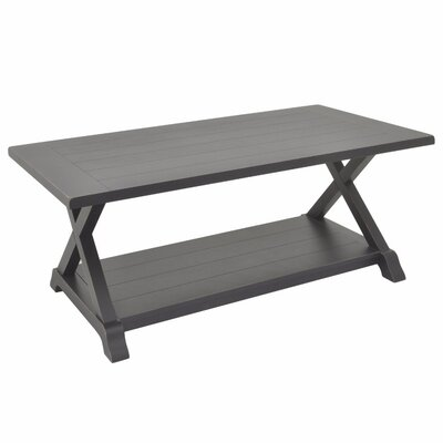 Padmasini Wood Coffee Table Color: Black