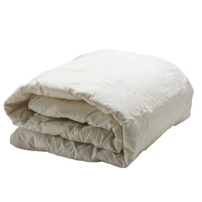 Decorative Allergy Comforter Color: Ivory, Size: Full / Queen