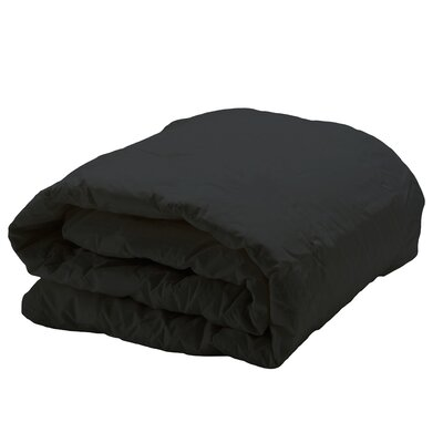 Decorative Allergy Comforter Size: Twin, Color: Black