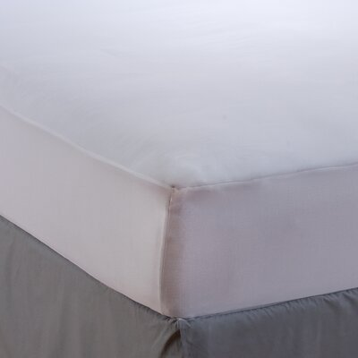Hot Water Washable Allergy Protection Mattress Pad Size: King