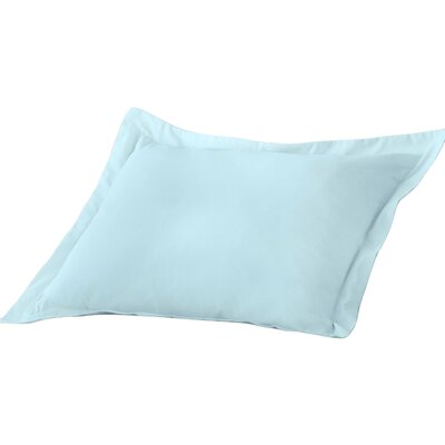 Decorative Allergy Pillow Sham Size: King, Color: Blue