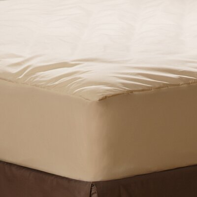 Naturals Organic Cotton Comfort Mattress Pad Size: Twin Extra Large