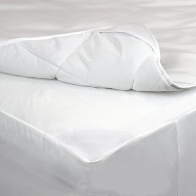 2 in 1 Mattress Pad with Removable Hot Water Washable Top Pad Size: Twin
