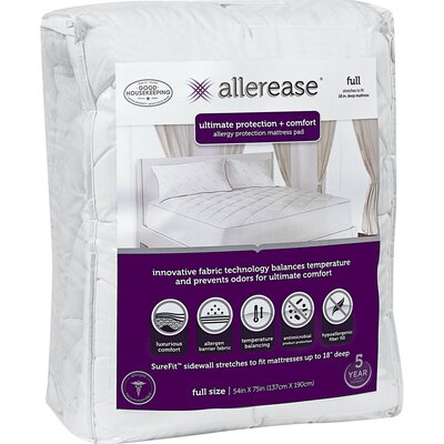 Ultimate Comfort 1 Polyester Mattress Pad Size: Queen