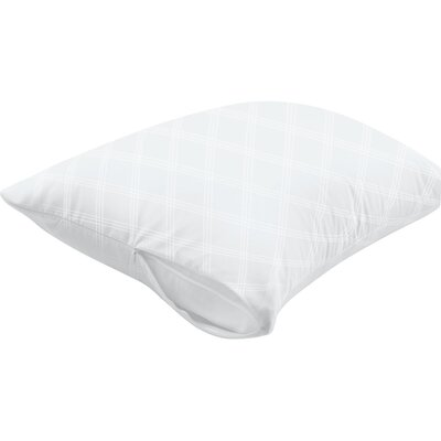 Ultimate Protection and Comfort Zippered Breathable Pillow Protector Size: Standard