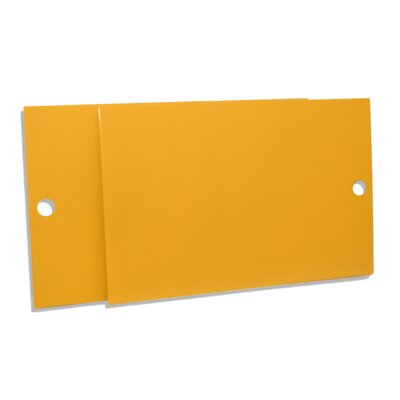 Key Modular Storage Door Color: Saffron Yellow