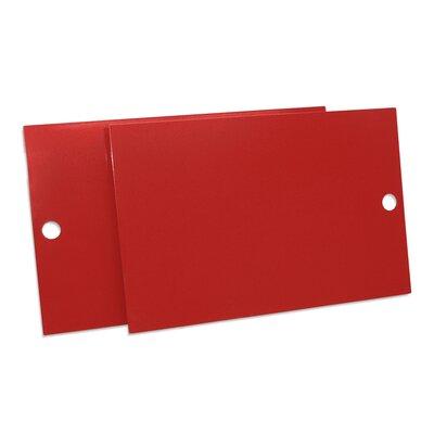 Key Modular Storage Door Color: Red