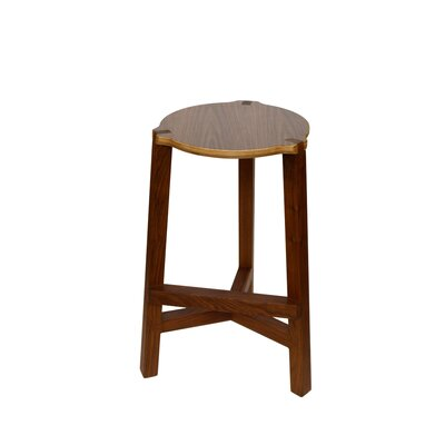 Tercet 29.5 Bar Stool Finish: Walnut