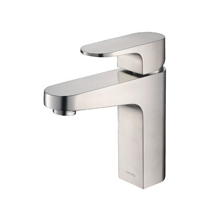 Series 180 Bathroom Faucet Single Handle Finish: Brushed Nickel