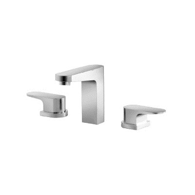 Series 180 Widespread Bathroom Faucet Double Handle Finish: Chrome
