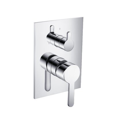 Series 180 Pressure Balance Tub and Shower Valve with Lift Handle Finish: Chrome