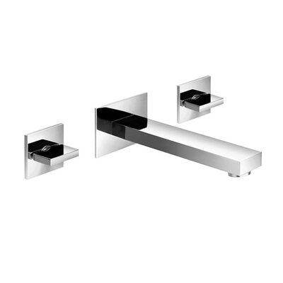 Series 160 Bathroom Faucet Double Handle Finish: Brushed Nickel