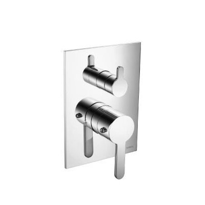 Series 180 Volume Control Thermostatic Shower Valve Finish: Chrome