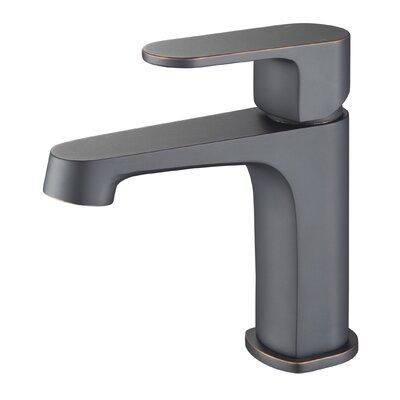 Braun Line Single Handle Single Hole Bathroom Faucet