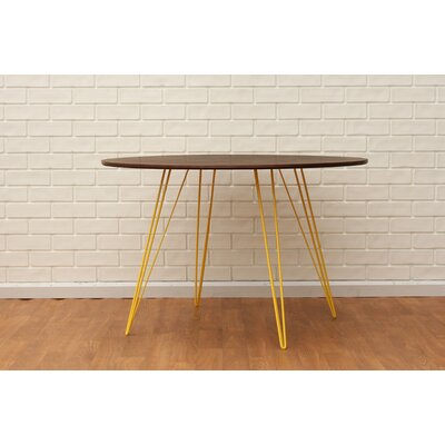 Williams Dining Table Finish Yellow