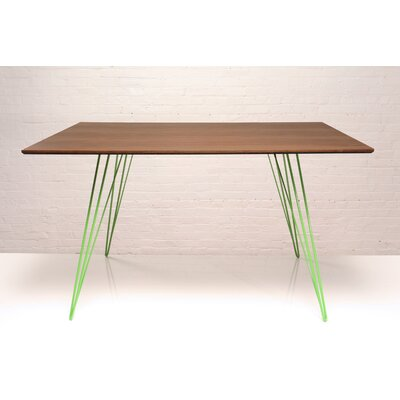 Williams Dining Table Finish Green