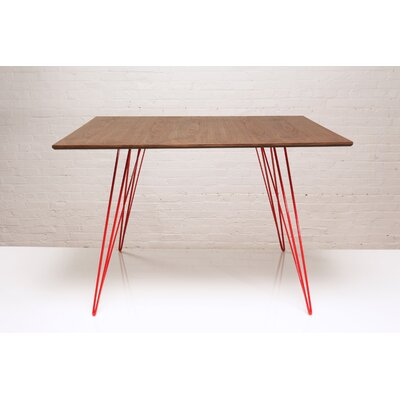 Williams Dining Table Finish Red