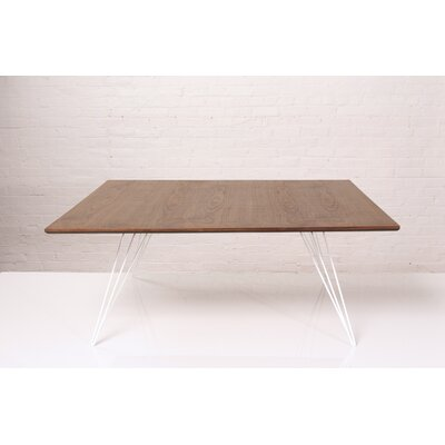 Williams Coffee Table Size: 18 H x 46 W x 46 D, Color: White
