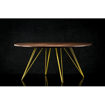 Williams Coffee Table Size: 18 H x 46 W x 46 D, Color: Yellow