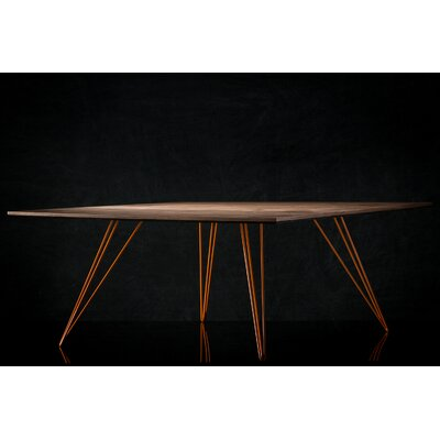 Williams Coffee Table Finish: Orange, Size: 18 H x 46 W x 54 D