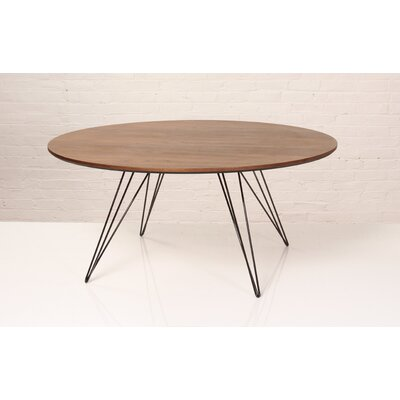 Williams Coffee Table Size: 18 H x 46 W x 46 D, Color: Black