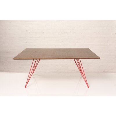 Williams Coffee Table Finish: Red, Size: 18 H x 46 W x 54 D