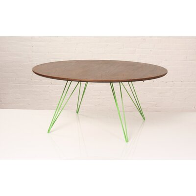 Williams Coffee Table Size: 18 H x 46 W x 46 D, Color: Green