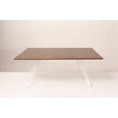 Williams Coffee Table Finish: White, Size: 18 H x 40 W x 46 D