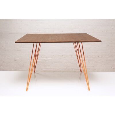 Williams Dining Table Finish Orange