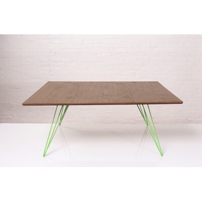 Williams Coffee Table Size: 18 H x 40 W x 40 D, Color: Green