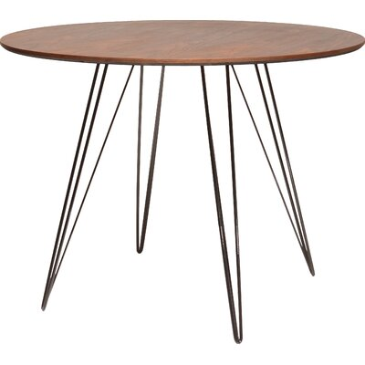 Williams Dining Table Color: Orange, Size: 30 H x 40 W x 40 D