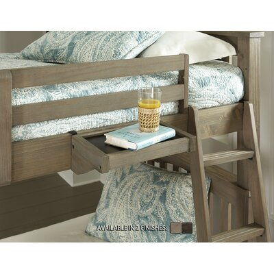 Highlands Bunk Bed Hanging Tray Finish: Driftwood