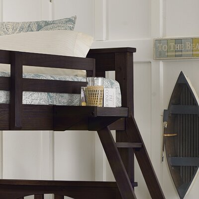 Highlands Bunk Bed Hanging Tray Finish: Espresso
