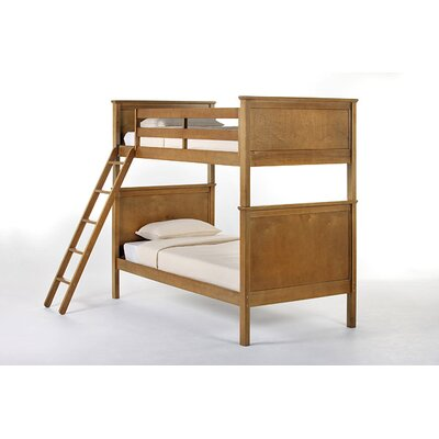 School House Bunk Bed Size: Twin/Twin, Finish: Pecan
