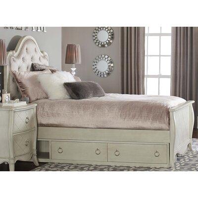 Brayan Wood Platform Bed with Storage Unit Size: Twin