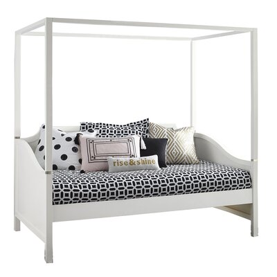 Jereme Canopy Daybed Size: Full