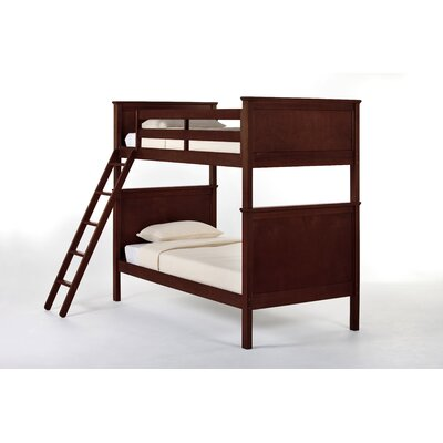 Javin Bunk Bed Conversion Kit in Chocolate Size: Full