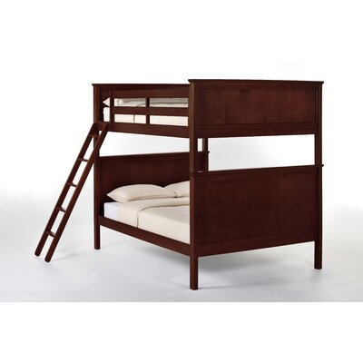 School House Bunk Bed Finish: Cherry, Size: Full/Full
